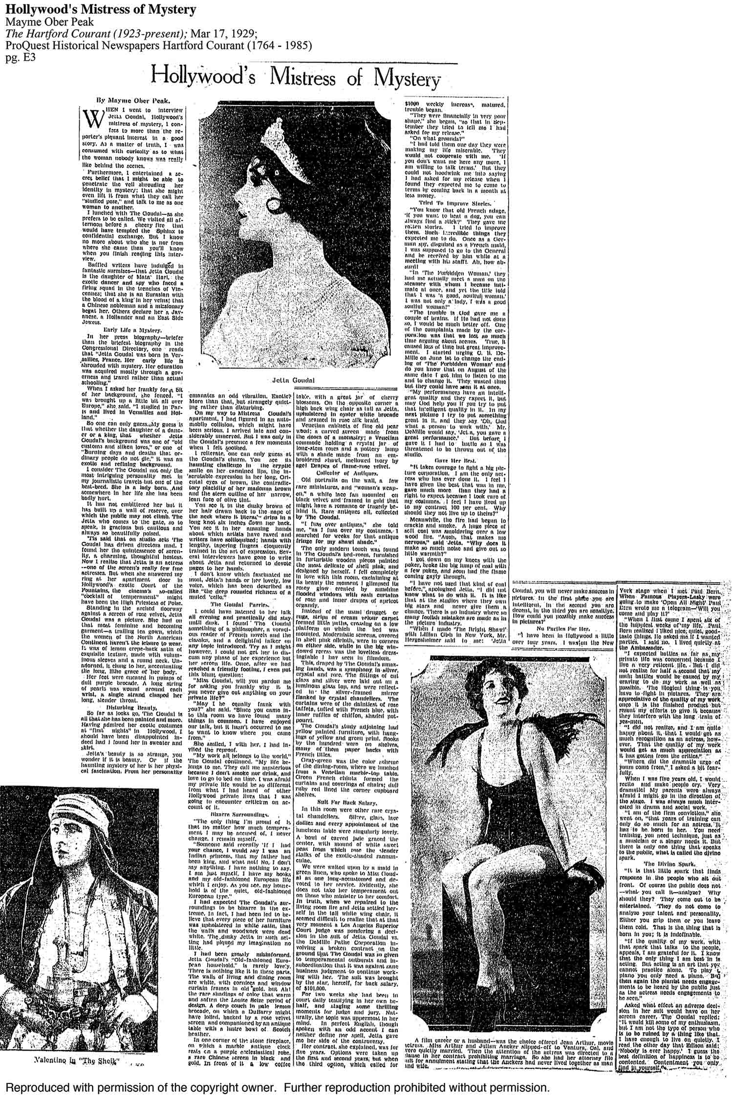 The Hartford  Courant – 1929